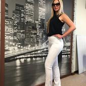 Белоснежные джинсы женские.Рекомендую! Есть отзывы 52 54 56рр