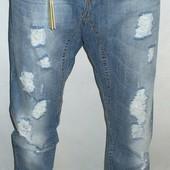 Джинсы мужские Klixs Jeans (Италия),46 ( пояс 94 см) , замеры в описании