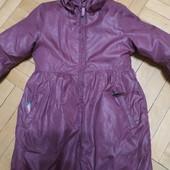 Теплое пальтишко на девочку 4-6 лет. Смотрите замеры