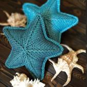 Декоративная подушка в форме звезды