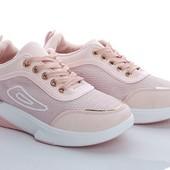 Стильные, удобные, легкие кроссовки. Размеры 36-40, замеры в лоте.