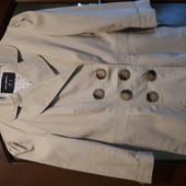 Стильный тренч пиджак 44р