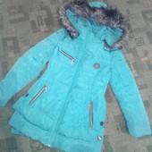 теплое пальтишко на девочку- подростка