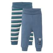 Комплект 2 шт. х/б штанишек для малычика от lupilu размер 50/56 качество супер!