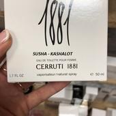 Сerruti 1881 отливант Тестера 5 мл (tester жен.) Смотрите все мои лоты,в лоте 5мл парфюма+флакон!