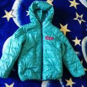 Деми курточка на мальчика 4-7 лет