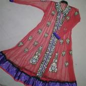 Дуже гарне плаття Оригінальні індійське Не пластик- камінчики Плаття накидкаЯкість