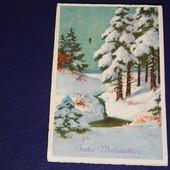 Старинная почтовая карточка! 1932 год! Австрия. прошедшая почту!