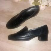 Осенние комфортные туфли. Кожа! Англия
