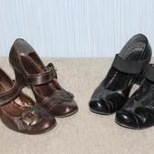 Лот з 3 пар взуття з натуральної шкіри 36 розміру