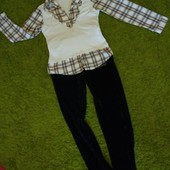 Комплект блуза + брюки Juicy Couture 40-42 размера
