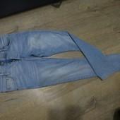 Зауженные дорогие джинсы.ПОБ-45-51см.Чудов.стан.