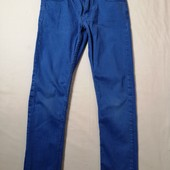 ЛоВиЛоТы!ярко-синие джинсы H&M, на 13-14 лет. рост 164