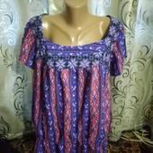 Яркая женская блуза George