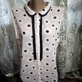 Стильная шифоновая блуза с цветочным принтом Atmosphere