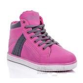 Классные розовые кроссовки-хайтопы. Хит сезона!