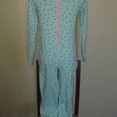 Пижама слип хлопок 11-13лет замеры на фото