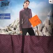 женская флисовая треккинговая куртка, мембрана Crivit размер евро 44-46