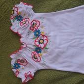 Вышиванка интерлок, размер 28