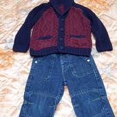Джинсы 5 пар джинсов+ кофта на 2-3 года, в идеале!!!