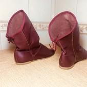Шкіряні італійські чобітки