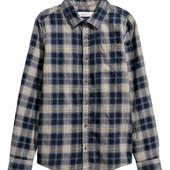 Фланелевая рубашка H&M 152 (11-12лет) С биркой. Качество премиум