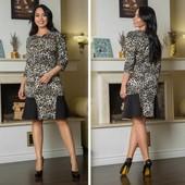 Новинка !!Батал!!! очень модные расцветки Шикарное платье