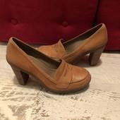 Ecco 100% туфельки на осень, весну. Р. 39(25,5)