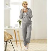 Шикарные велюровые брюки с пайетками Еsmara размер 36
