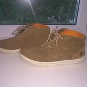 Фирменные брендовые ботинки Timberland (Тимберлэнд), размер 33, стелька 21см