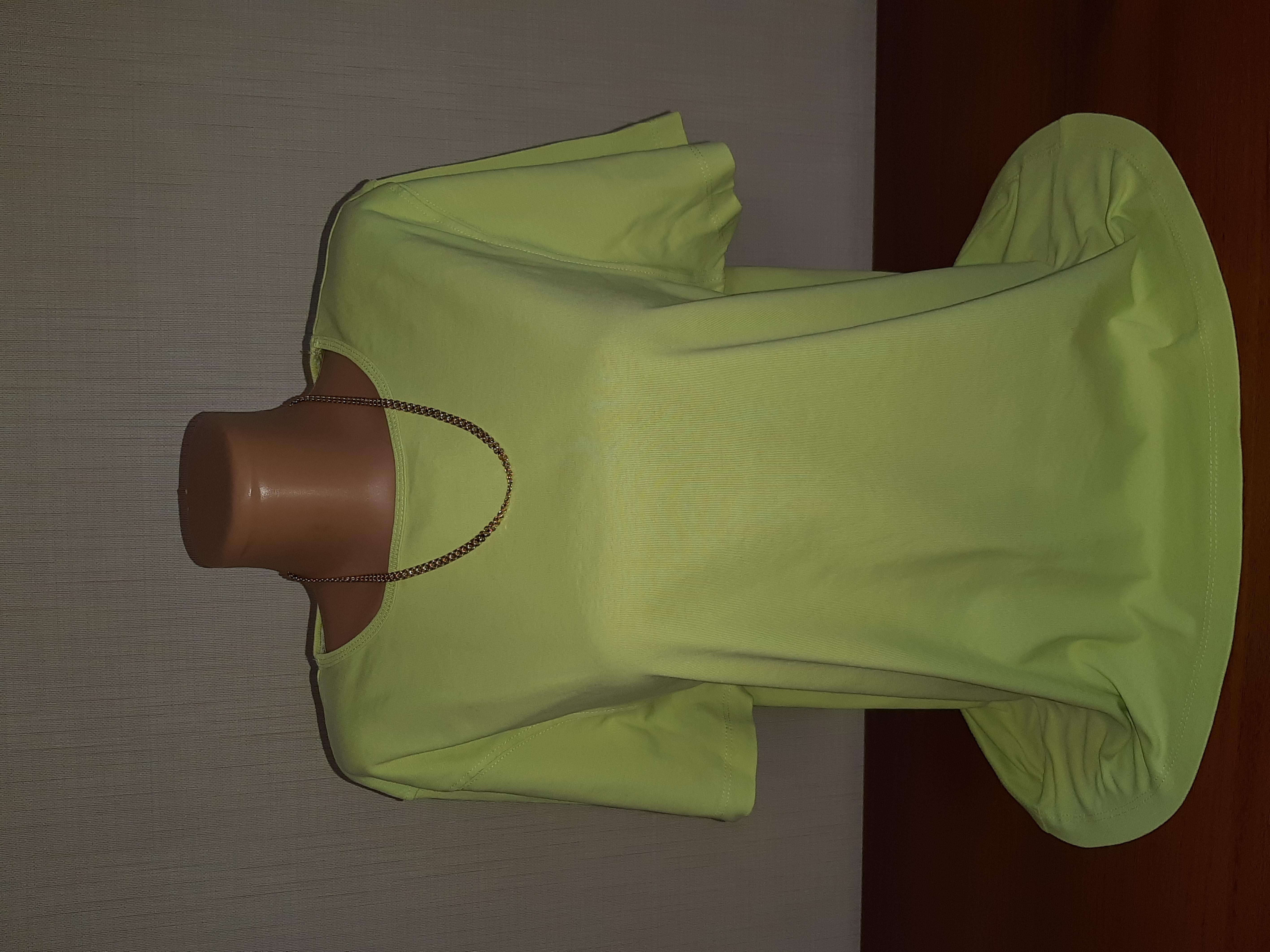 Красивая качественная футболка 100% хлопок р-р 52 - Фото №1