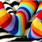 Носочки с пальчиками. Комплект 5 шт. 18-25 р.