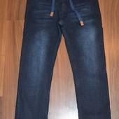 Зимние джинсы для мальчиков, р.140-176