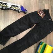 Вельветовые брюки на флисе! Последние! р-р 116-122