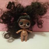 кукла лол ,  очень густые волосы!