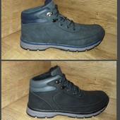 Зима!!! Ботинки Restime Чёрные и синие Р. 41 43 44 45 46 Одна ростовка