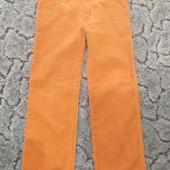 Вельветовые штаны на девочку 4-6 лет