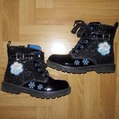 ❤️ Классные ботинки с Эльзой, размер указан 30