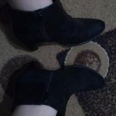 Ботинки натуральная кожа,демисезонные,в отличном состоянии!