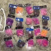 Набор резинок для плетения 20 пакетиков