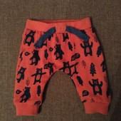 Фирменные штанишки F&F (Эф Енд Эф) baby, на 3 месяца, качественные