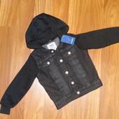 Джинсовая куртка на малыша до 3-х лет от Lupilu