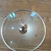 Крышка стеклянная 26 .28или 30 см на выбор