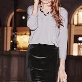 Новая esmara !!! Праздничная ефектная блуза сереброна выбор!!!