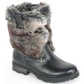 Зимние ботинки-казаки Geox 36р
