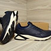 Нат. кожа!!! Мужские кроссовки Restime Р. 44 Для тех, кто любит качество