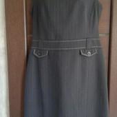 Фирменный сарафан-платье в хорошем состоянии р. 12-14