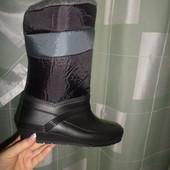 Женские резиновые утепленные сапоги на дождь и снег.В сезон будут дороже!!