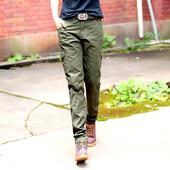 Натуральные карго джинсы next повседневные брюки р С (идеальные)