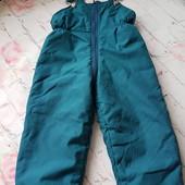Демисезонный комбинезон штаны